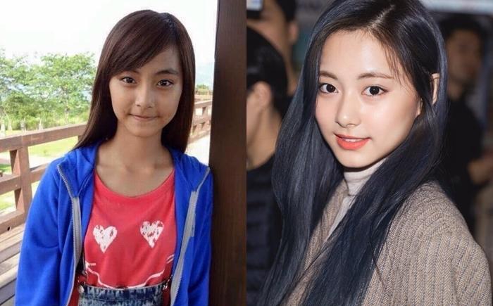 4. Tzuyu (Twice):  Hình ảnh trước khi debut sẽ khiến các fan kinh ngạc bởi sự thay đổi ấn tượng của mỹ nhân nhà JYP.