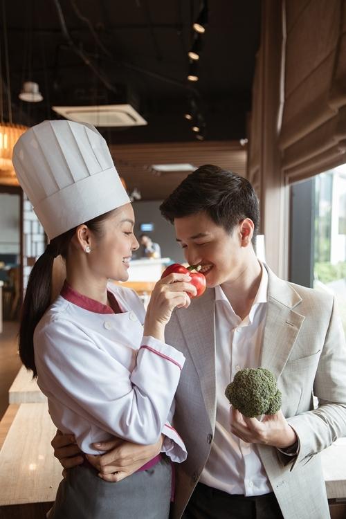 Dương Cẩm Lynh đáp trả bình luận không xứng đôi Huỳnh Anh trên phim - 2