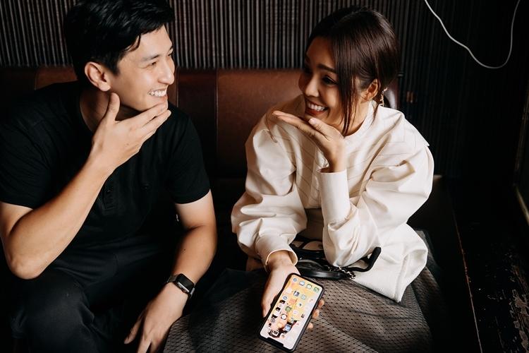 Dương Cẩm Lynh đáp trả bình luận không xứng đôi Huỳnh Anh trên phim - 5