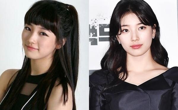 Suzy ra mắt năm 2010 ở tuổi 16. Sau 10 năm, nữ tân binh ngày nào đã trở thành một trong những mỹ nhân hàng đầu Kbiz. Fan cho rằng nhan sắc Suzy thuộc loại càng nhiều tuổi trông lại càng đẹp hơn.