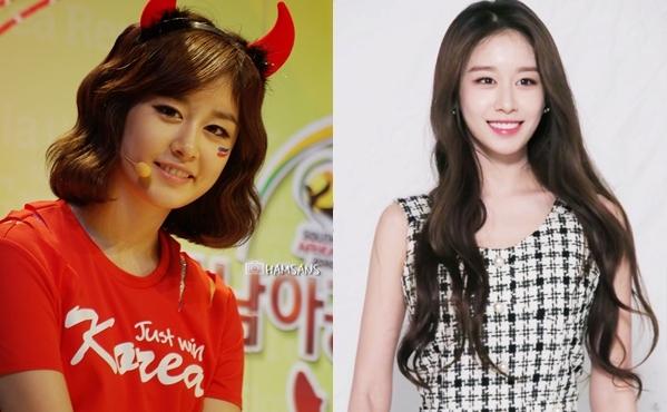 Năm 2010, Ji Yeon vẫn đang là cô bé 17 tuổi đáng yêu, gương mặt toát lên vẻ ngây thơ non nớt. Một thập kỷ trôi qua, cô nàng đã trở thành mỹ nhânđằm thắm, quyến rũ.