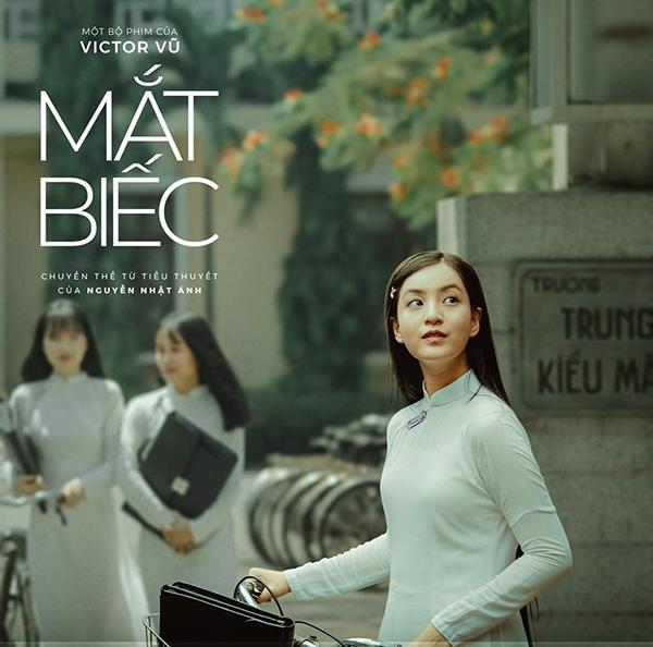 Nhân vật Hồng thầm yêu Ngạn trong phim.