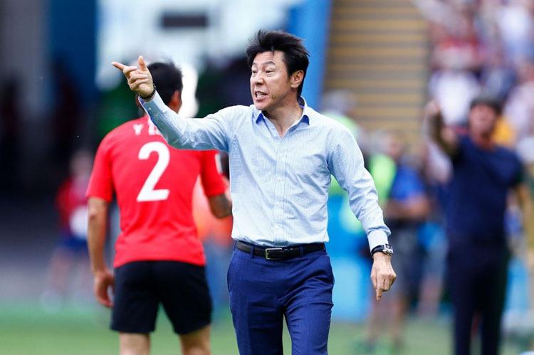 Ông Shin Tae Yong từng là HLV dẫn dắt đội bóng Hàn Quốc dự World Cup 2018.
