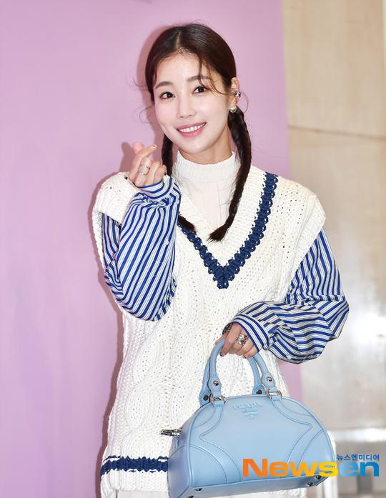 Nữ diễn viên Ki Eun Se.
