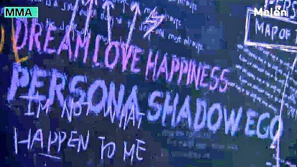 Trong video phát tại lễ trao giải MMA hồi tháng 11 xuất hiện ba chữ Persona, Shadow và Ego. Fan tin rằng đây là tên của 3 album trong chuỗi Map of the Soul.