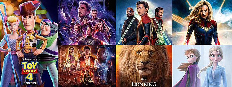 Những phim Disneykiếm tỷ đô năm nay.