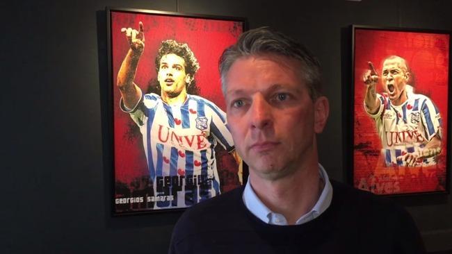 Giám đốc kỹ thuật của CLB Heerenveen, ông Gerry Hamstra. Ảnh: Omropfryslan.
