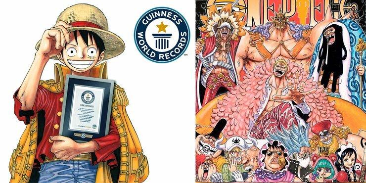 One Piece là bản manga bán chạy nhất thời đại.