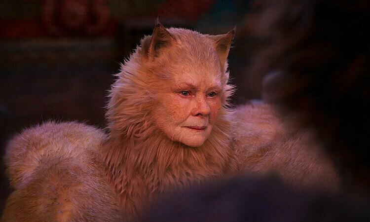 Tạo hình của Judi Dench.