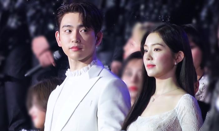 Jin Young và Irene.