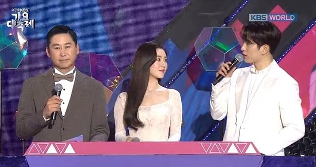 Irene đứng cạnh Jin Young mà fan cứ ngỡ đám cưới trong mơ - 2