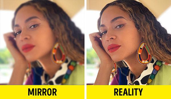 Lý do bạn thấy mình xinh đẹp hơn khi soi gương - 4