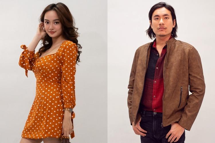 Tạo hình của Kaity Nguyễn và Kiều Minh Tuấn trong phim.