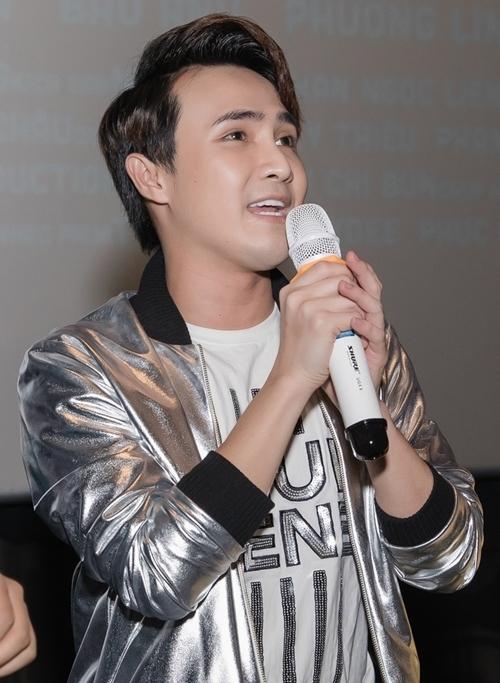 Các diễn viên Duy Khánh, Võ Đăng Khao, Huỳnh Lập (ảnh) liên tục đấu tố Nam Thư tại buổi ra mắt phim tạo không khí vui vẻ.
