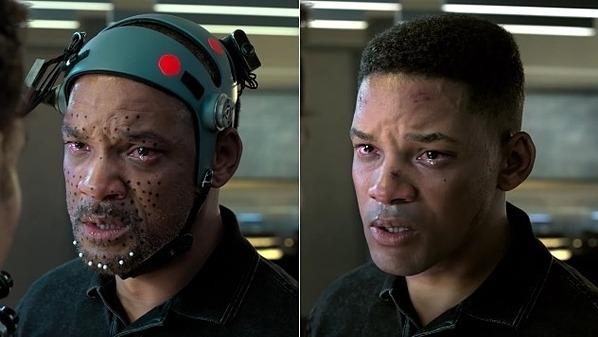 Gương mặt Will Smith sau khi được hồi xuân.