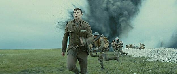 Hình ảnh trong phim 1917.