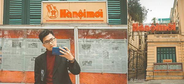Hà Nội MớiNhắc nhớ về những bức tường check-in đậm chất Hà Nội không thể không kể đến Văn phòng báo Hà Nội mới. Chỉ một góc tườngsơn vàng, một khung cửa sổ sơn màu xanh trang nhã cùng tủ báo lồng kín làm điểm tin,chỉ cần đứng vào là có ngay một tấm ảnh chất vintage.