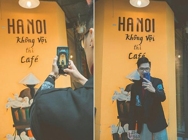 Hà Nội không vội thì mình cafeTrong bảnphối văn hóacủađất thủ đô, cà phê Hà Nội có lẽ là một bản hòa tấu đa sắc tạo nên một văn hóa cà phê rất Hà Nội. Người Hà Nộinhâmnhi ly nâu nóng đậm đặc trong sáng sớm không vội vã.