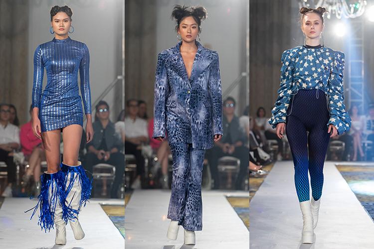 Tinh thần của bộ sưu tập là đan xen giữa các kiểu dáng cổ điển của thập niên 90 với các xu hướng hiện đại, mang màu sắc cá tính đặc trưng của Quỳnh Anh Shyn.