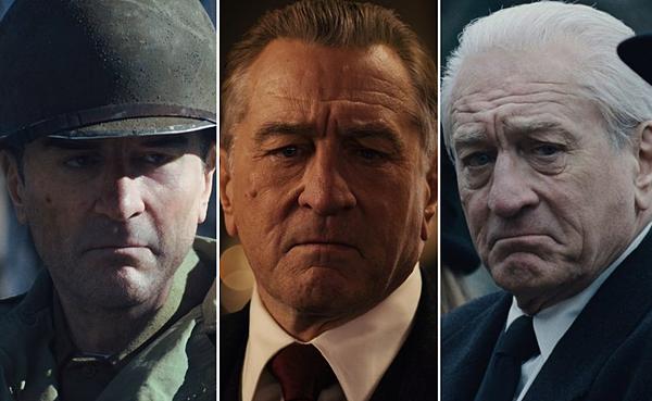 Robert De Niro biến đổi diện mạo trong phim.