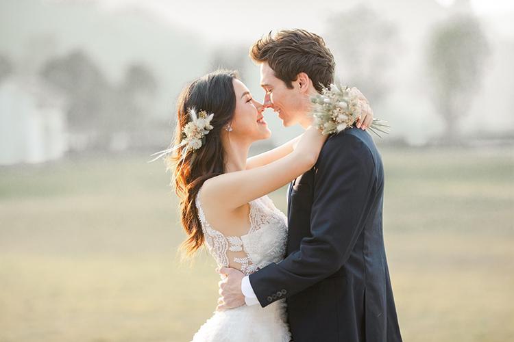 Ảnh cưới của Hoàng Oanh.