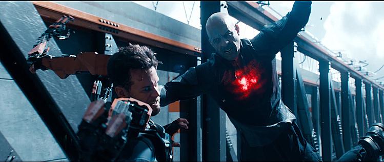 Tạo hình của Vin Diesel trong vai Bloodshot.
