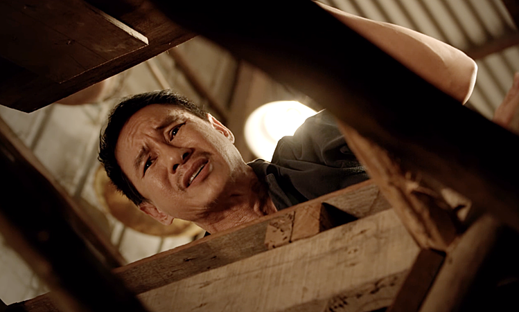 Như thường lệ, đạo diễn Lý Hải tự dàn xếp cho mình một vai cameo.