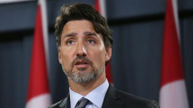 Thủ tướng Canada,  Justin Trudeau, đề nghị bồi thường cho gia đình của nạn nhân trên chuyến bay PS752. Ảnh: AFP.