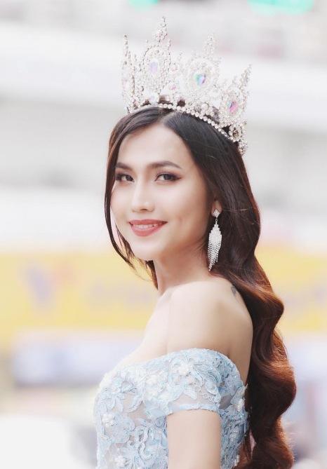 Hoa hậu chuyển giới Bùi Đình Hoài Sa.
