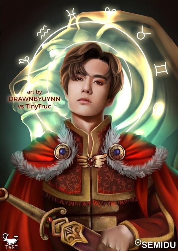 Vương Nhất Bác ngầu và soái vô đối với tạo hình bậc đế vương cung Sư Tử.