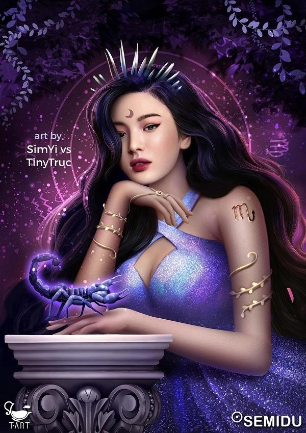 Minh tinh Song Hye Kyo đẹp ma mị, bí ẩn với tạo hình cung Bò Cạp.