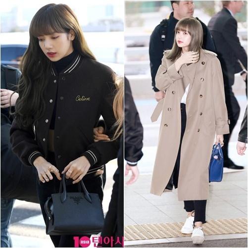 Em út Black Pink nổi tiếng với phần mái bất biến trong mọi hoàn cảnh. Phần tóc mái dày, thẳng băng, không xê dịch trở thành thương hiệu của Lisa.