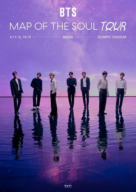 Concert mở màn world tour sẽ diễn ra tại sân vận động Olympic Seoul vào ngày 11/4.