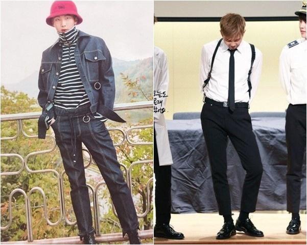 RM sở hữu đôi chân dài đáng nể.