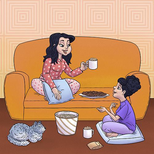 7 mối quan hệ phổ biến giữa mẹ và con gái - 1