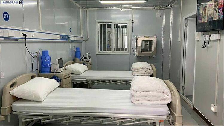 Bệnh viện dã chiến thứ hai của Trung Quốc vào hoạt động