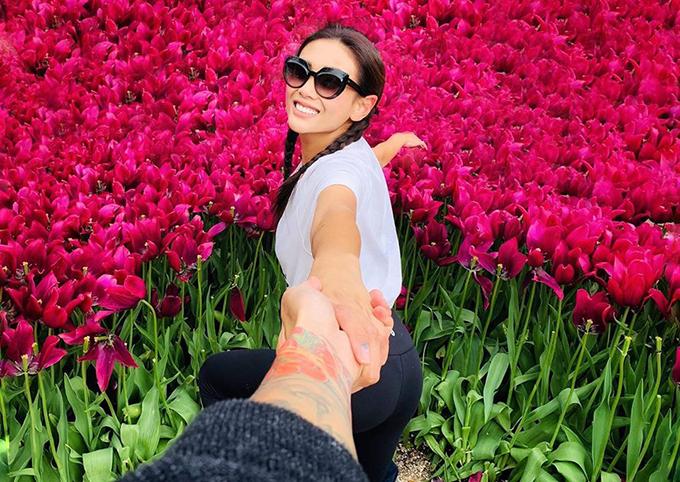 Võ Hoàng Yến đăng ảnh du lịch cùng bạn trai dịp Valentine, tuy nhiên vẫn kiên quyết giấu mặt nửa kia.