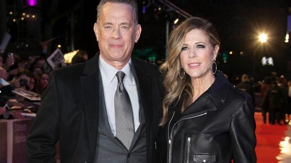 Vợ chồng Tom Hanks.