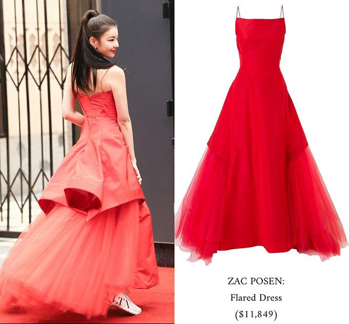 Từng gây bão mùa hè với Icy, thời trang trong MV này của Lia cũng được đánh giá cao khi cô nàng xuất hiện với nhiều váy áo đắt giá.Váy đỏ nổi bật của Zac Posen có giá khủng 11,849 USD (hơn 276 triệu đông).