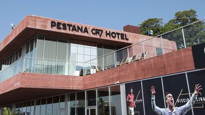 Khách sạn mang thương hiệu CR7 ở Lisbon, Bồ Đào Nha. Ảnh: Marca.
