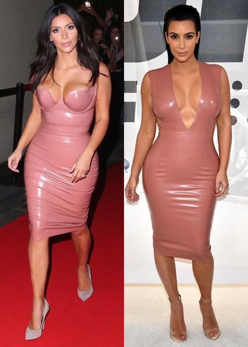 Người đẹp đặc biệt chuộng các tông hồng nude, hồng da càng tăng thêm độ sexy.