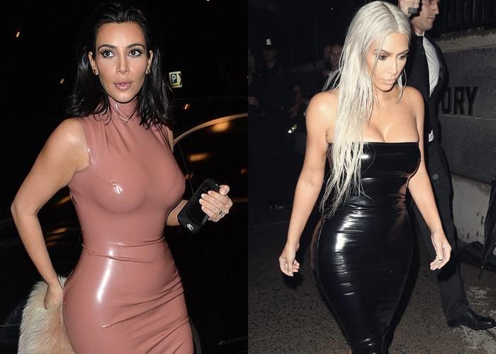 Nhiều năm liền, Kim gắn bó với phong cách yêu thích. Nhiều lần cô mặc đồ chật đến nỗi không thể ngồi, khó đi lại, thậm chí còn bị rách khi bước lên xuống xe.