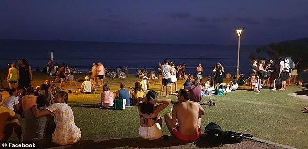 Vịnh Byron, Australia như chưa từng có lệnh phong tỏa.