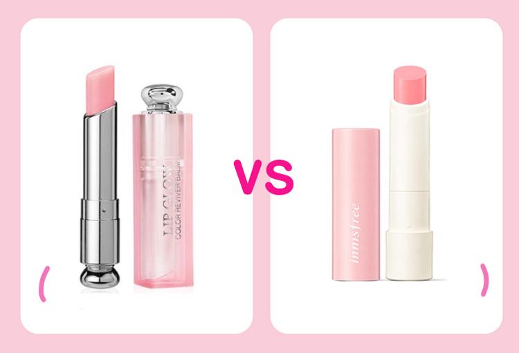 Dior Addict Lip Glow là cây son dưỡng nổi tiếng bậc nhất của Dior, không chỉ giúp đôi môi mềm mịn mà còn tạo hiệu ứng ửng hồng tự nhiên. Tuy nhiên giá của cây son đình đám chẳng dễ chịu chút nào. Nếu không muốn chi đến 800k để sở hữu cây son dưỡng này, bạn có thể chọn son Innisfree Glow Tint Lip Balm thay thế. Có giá chỉ khoảng 150k nhưng sản phẩm này không kém chất lượng Dior quá nhiều.