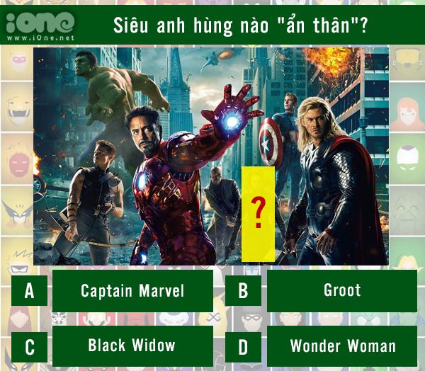 Quiz: Siêu anh hùng nào đã ẩn thân trong cảnh quay?