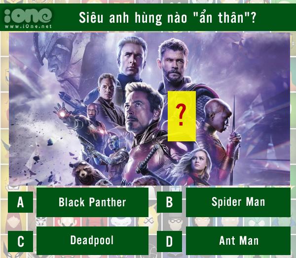 Quiz: Siêu anh hùng nào đã ẩn thân trong cảnh quay? - 2