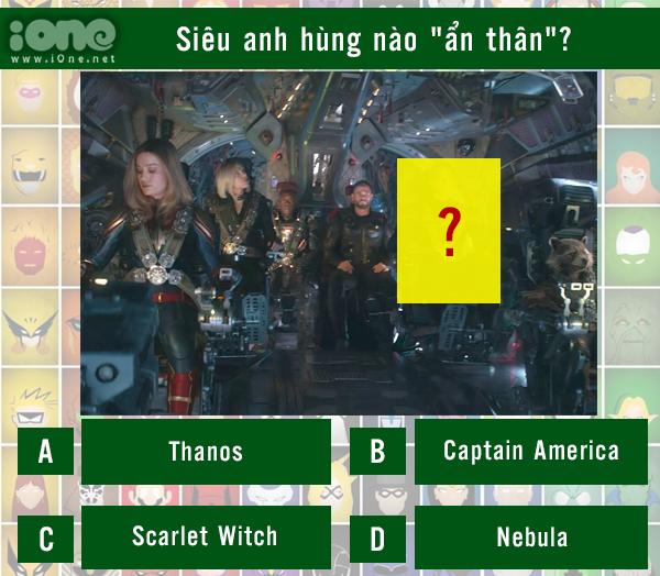 Quiz: Siêu anh hùng nào đã ẩn thân trong cảnh quay? - 6