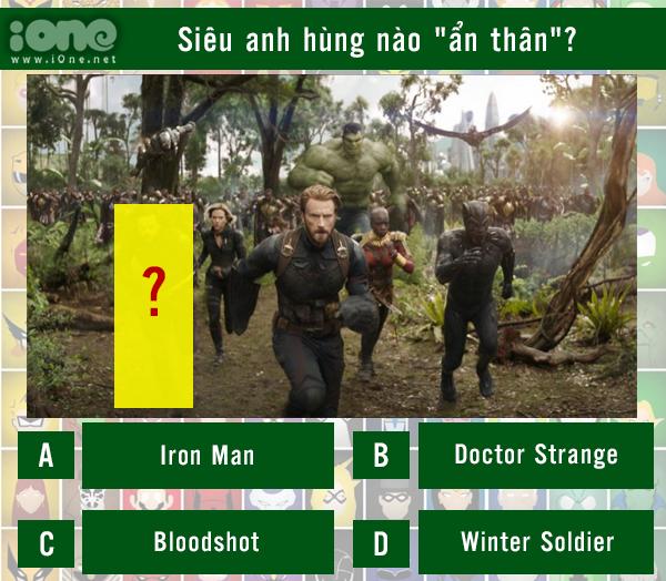 Quiz: Siêu anh hùng nào đã ẩn thân trong cảnh quay? - 10