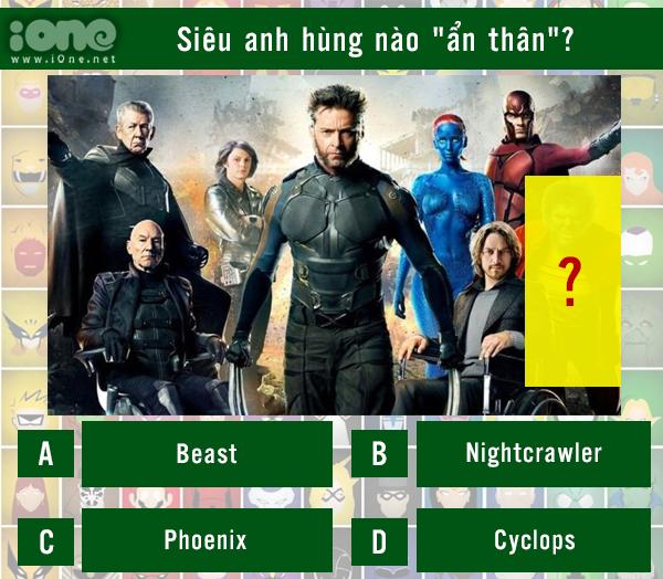 Quiz: Siêu anh hùng nào đã ẩn thân trong cảnh quay? - 14