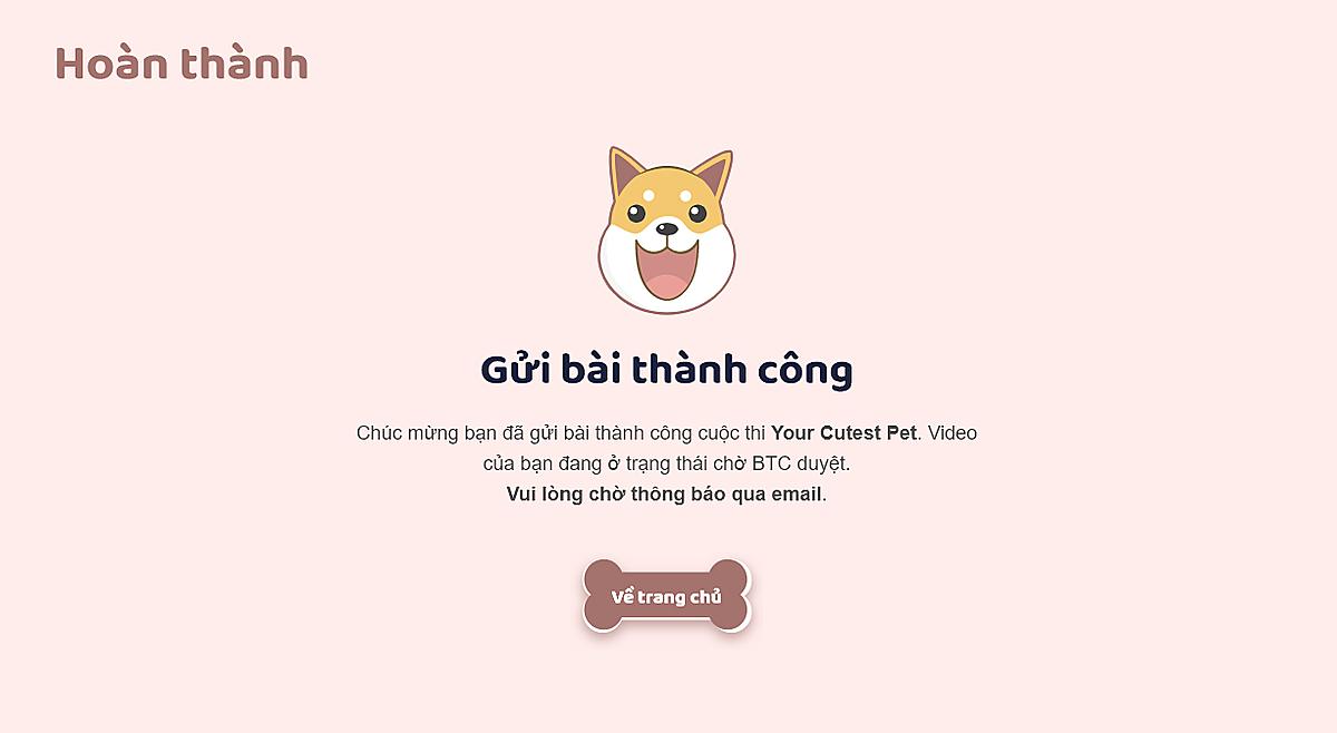 Hướng dẫn gửi bàithiảnh - video về thú cưng Cutest Pet - 7